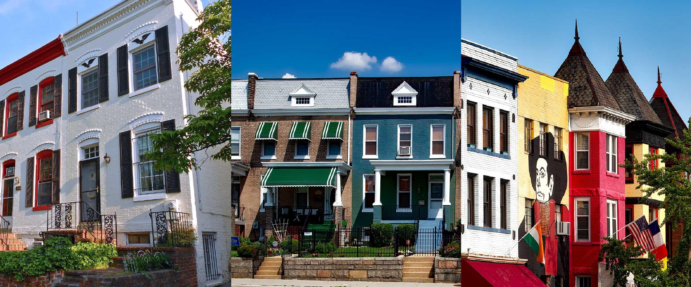 Map of Best Neighborhoods in DC for First Time Home Buyers