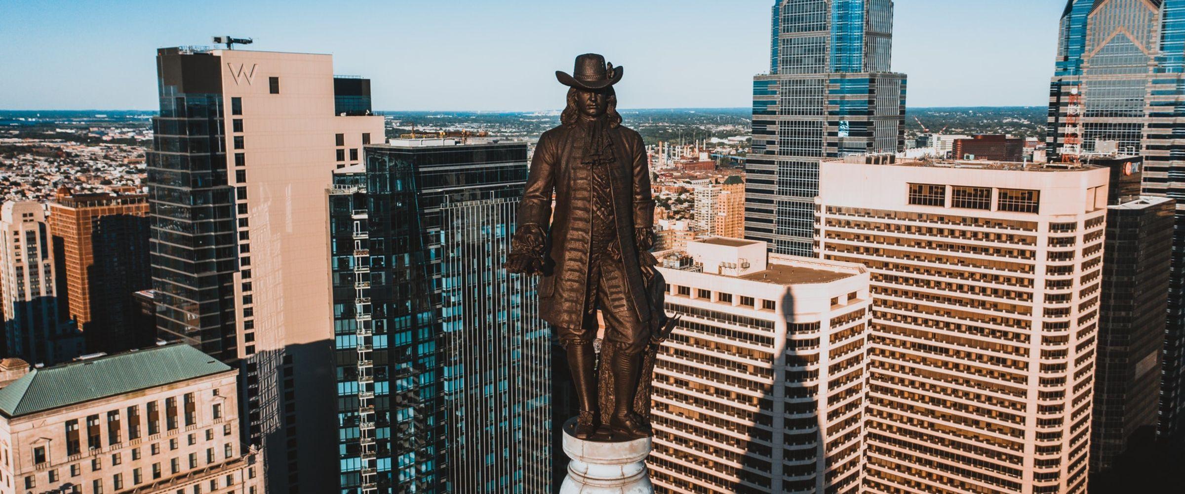 Philadelphia cost of living city view