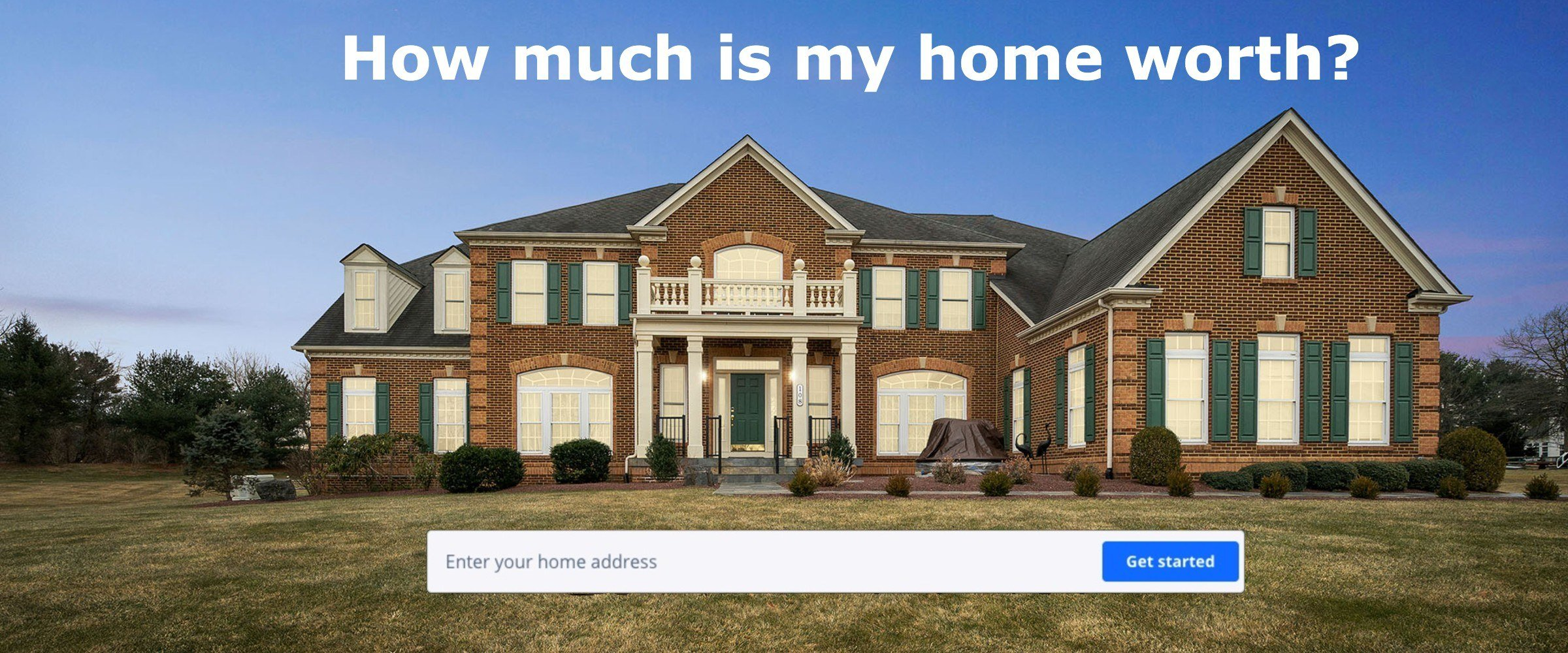 Zillow Home Value Estimate on House