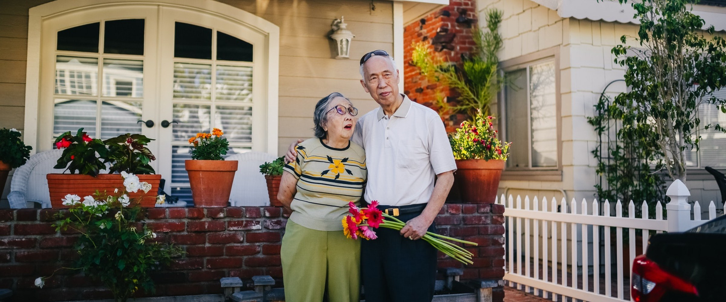 elderly aging in place in their homes