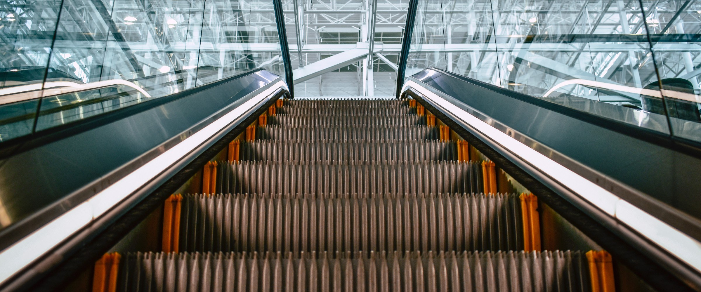 escalator image to represent escalation clause