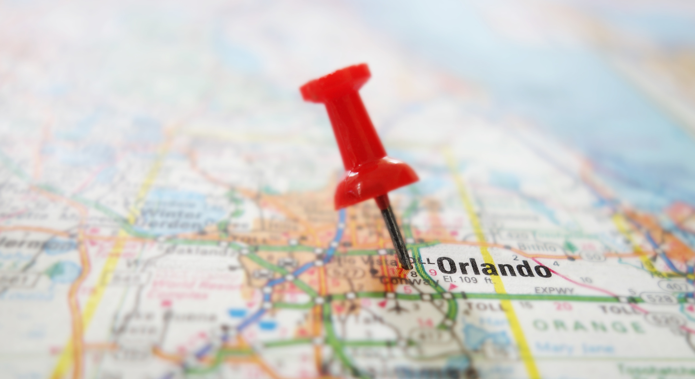 Orlando homes map