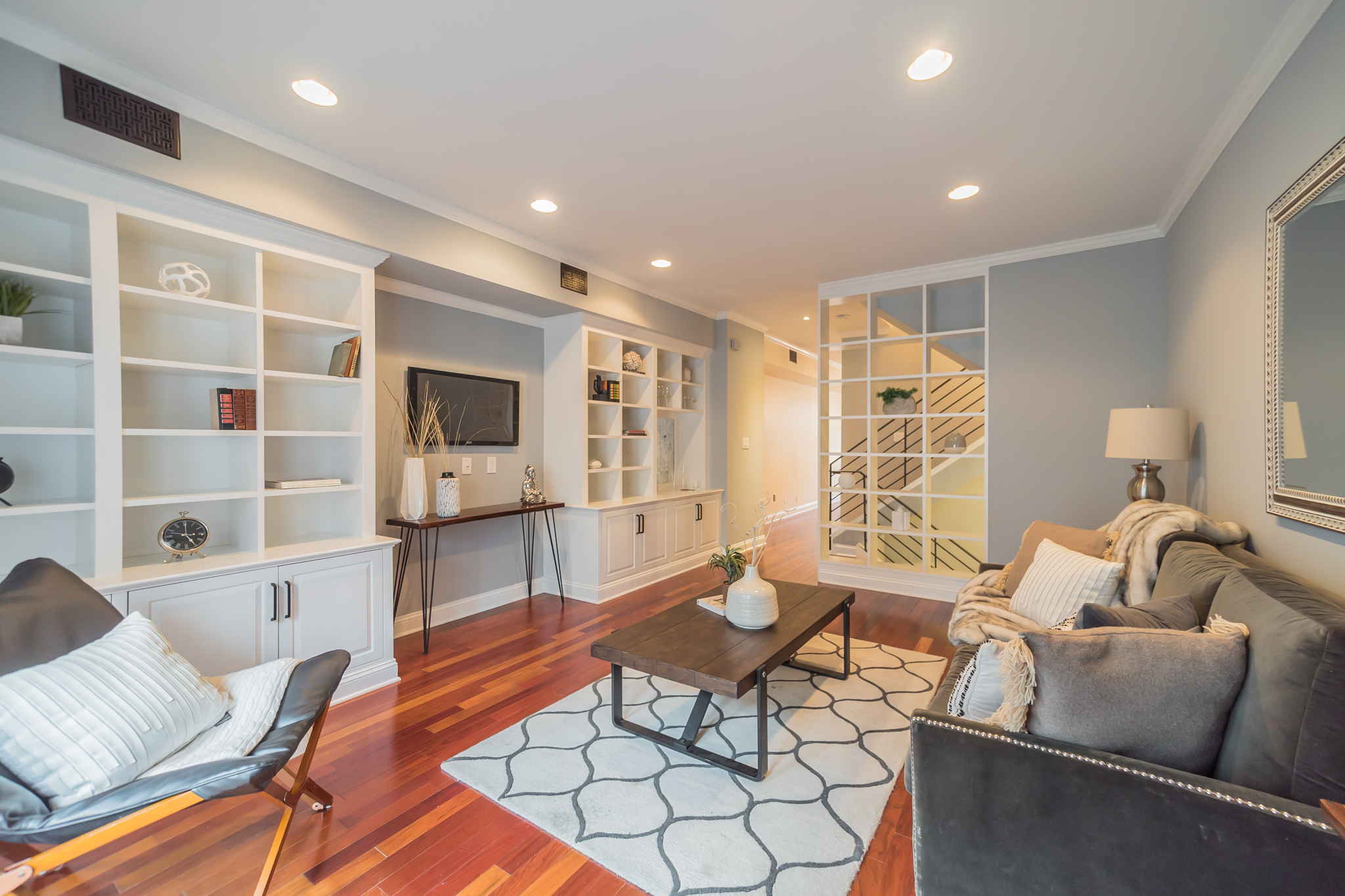 a tidy home for showings in Philadelphia